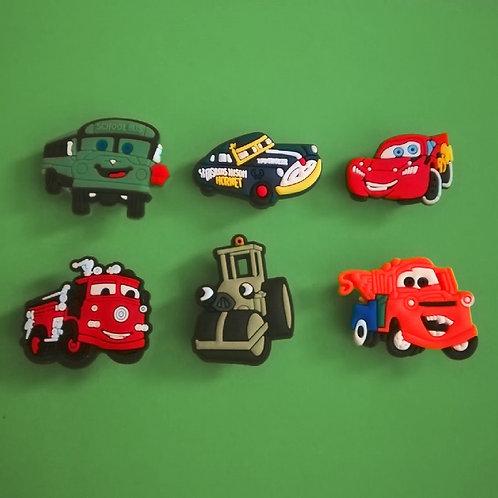 6pcs / Disney Cars - 2D