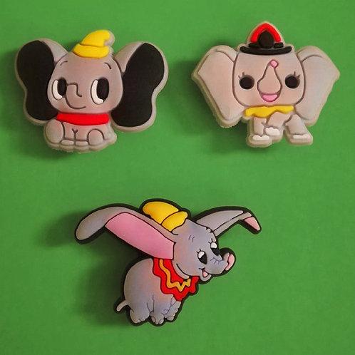 3pcs / Disney Dumbo - 2D