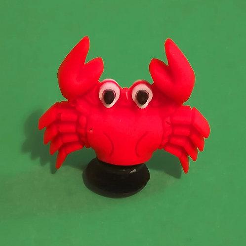 2pcs / Red Crab - 3D