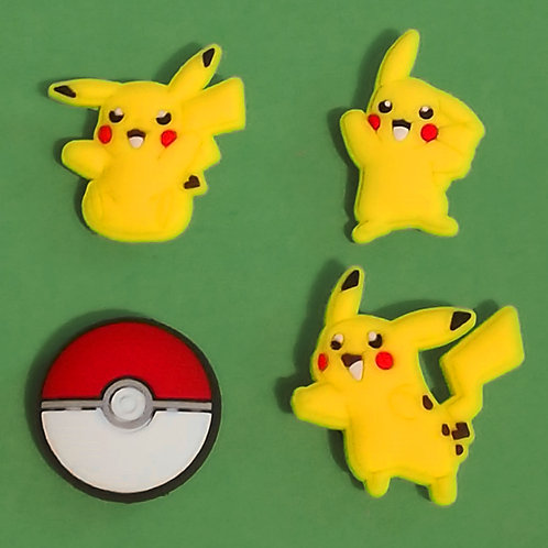 4pcs / Pokemon - 2D