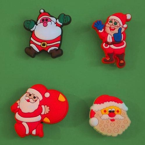 4pcs / Christmas Theme - 2D
