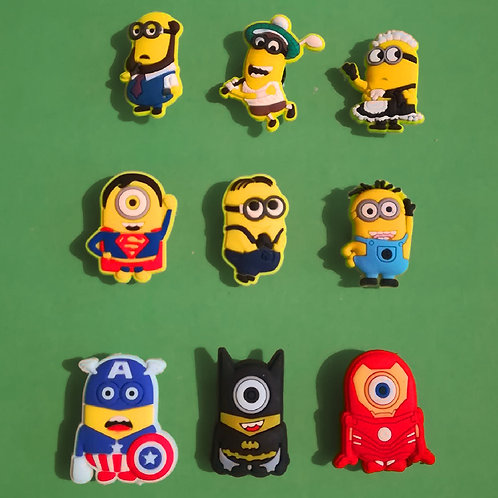 9pcs / Despicable Me Minions - 2D