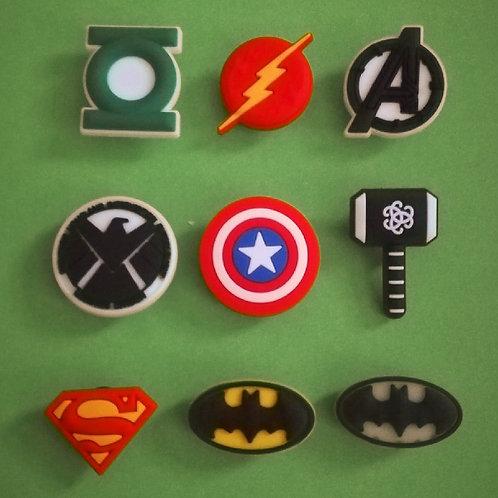 9pcs / Avengers - 2D