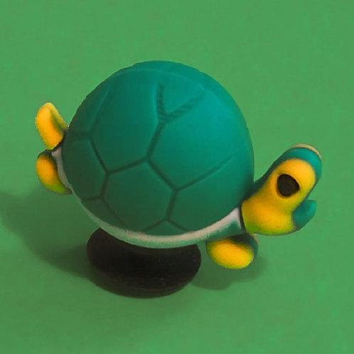 2pcs / Green Turtle - 3D
