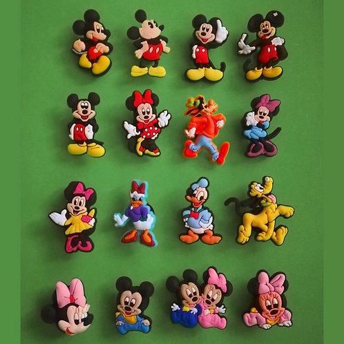 16pcs / Disney Mickey Mouse & Friends - 2D