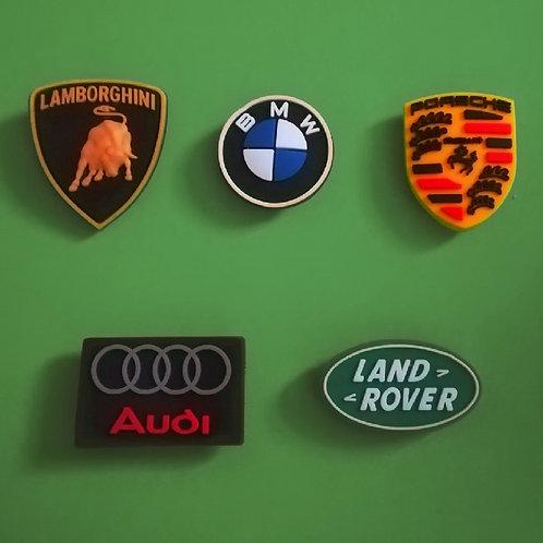 5pcs / Car Logo - 2D