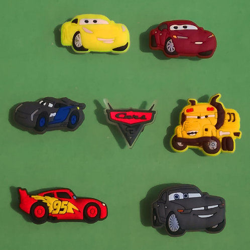 7pcs / Disney Cars 3 - 2D