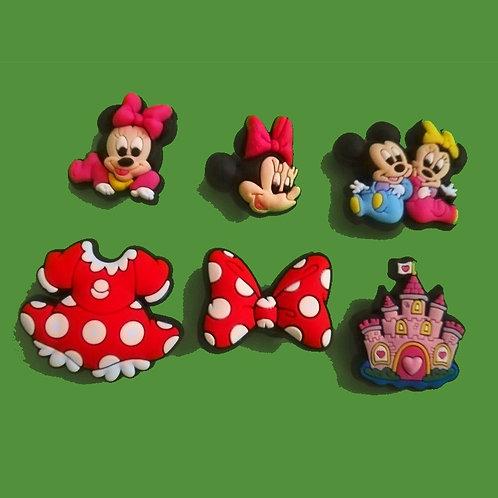 6pcs / Disney Mickey & Friends - HQ