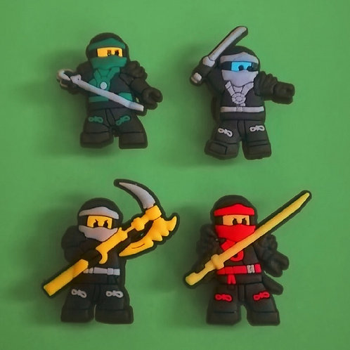 4pcs / Lego Ninjas - 2D