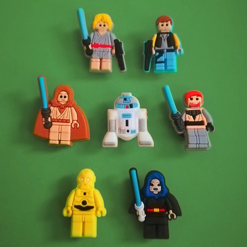 7pcs / Lego Star Wars - 2D