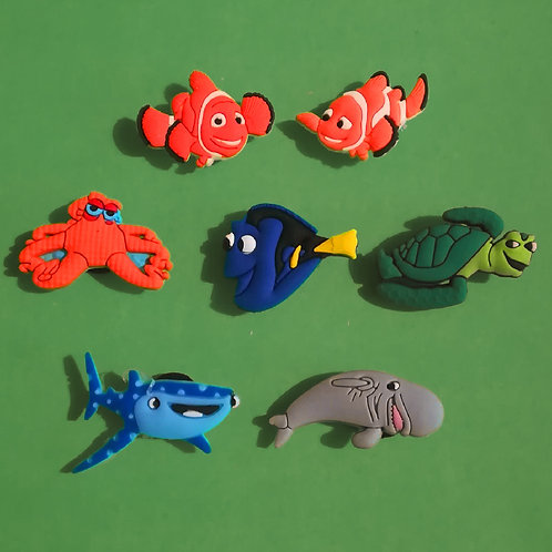 7pcs / Finding Nemo - 2D
