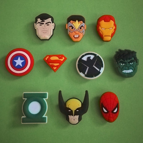 10pcs / Avengers - 2D