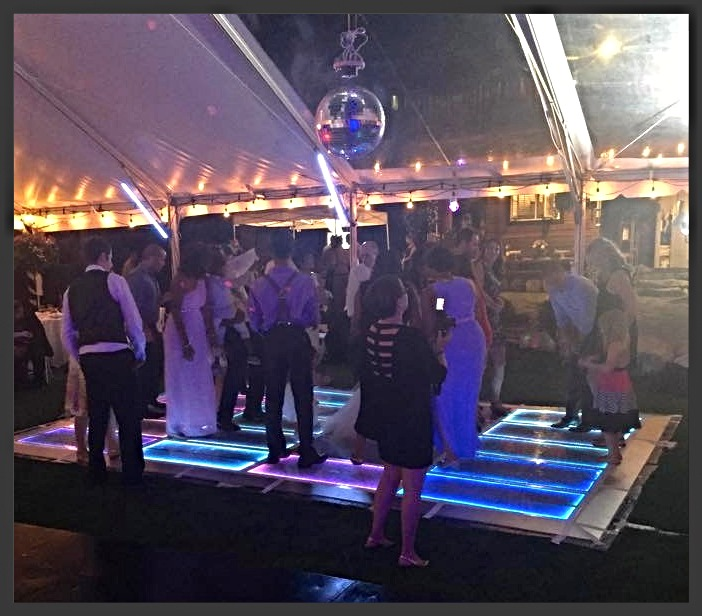 LED Dance Floor Rental & DJ