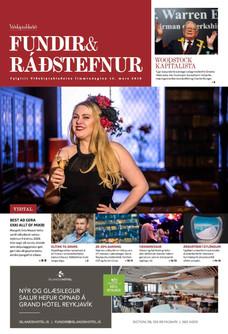 Cover of Viðskiptablaðið