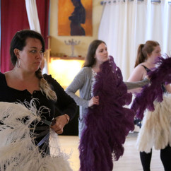 Feather Fan Workshop with Broody Valentino