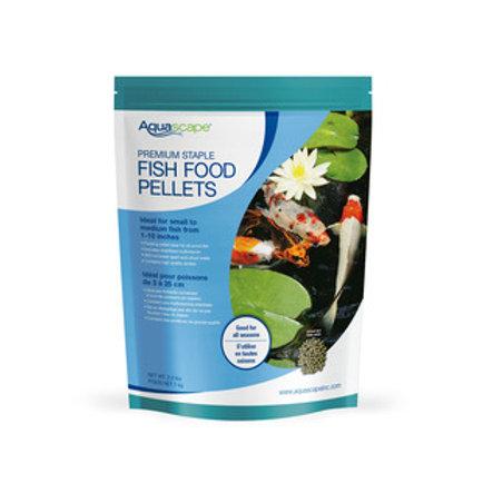 #98868 Premium Staple Fish Food Pellets Medium Size 2.2lb