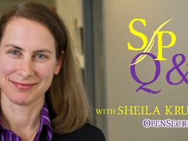 OpenSecrets executive director Sheila Krumholz on campaign finance system & watchdog mega-merger
