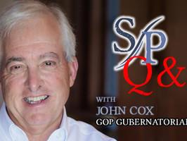 John Cox on homelessness, vaccines & election fraud