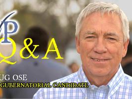 Sacramento gubernatorial recall candidate Doug Ose on Jan. 6 riot, vaccines & homelessness