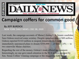 Sacto Politico OpEd follow-up: Campaign coffers for the common good?