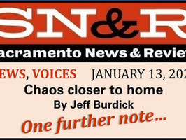 Sacramento's riot of inflammatory rhetoric last week included Sac Bee