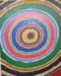 I'm very into the mandala, circles theme