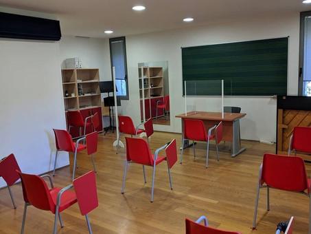 Hoxe arrancamos un novo curso escolar con novas normas pero con moitas ganas!!