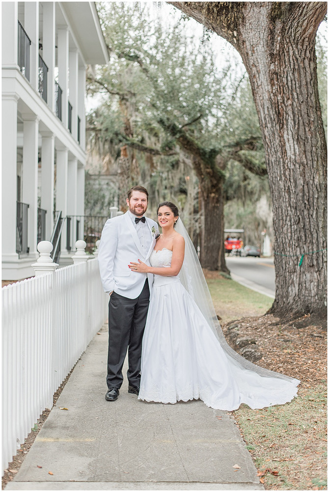 Mr. and Mrs. Bailey | Beaufort Inn & Old Bay Market Place Wedding
