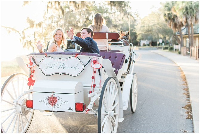 Mr. and Mrs. Wolfe | Anchorage 1770 Inn | Beaufort, SC
