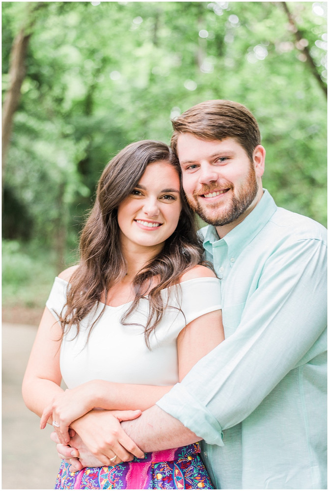 Emily and Austin | South Carolina State House Engagement Session | Columbia, SC
