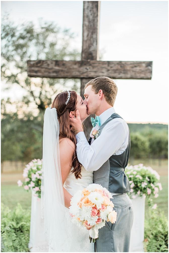 Mr. and Mrs. Howard | Jackson's Landing Wedding | Columbia, SC
