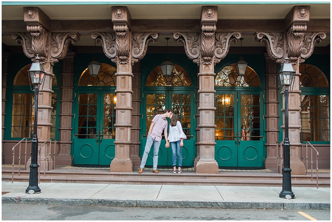 Willam and Eliza | Engagement Session | Downtown Charleston