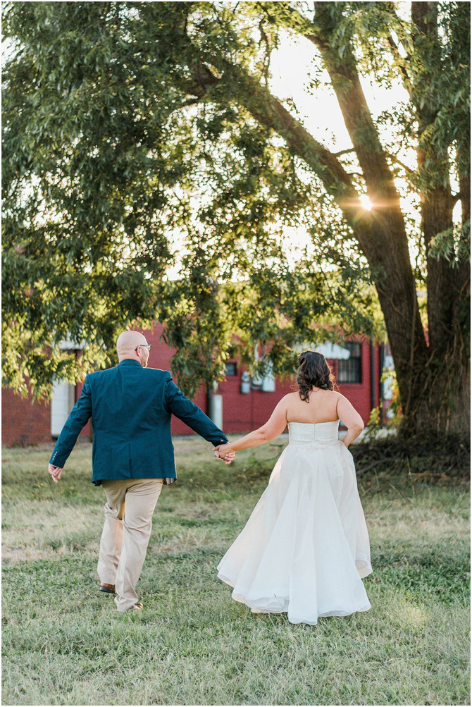 Elizabeth and Brady | Intimate Greer City Park Wedding