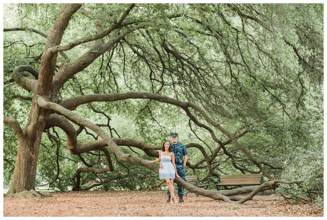 Callee and Alex | Horseshoe and State House Engagement Session
