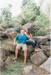 Ashley and Trevor | Engagement Session | Columbia Riverwalk and South Carolina State House