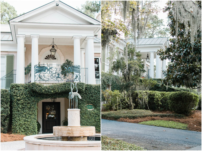 Mr. and Mrs. Rapisardo | Oldfield Plantation Wedding | Second Shooting Celia G Photographie