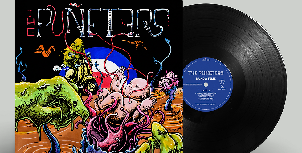 The Puñeters - Mundo Feliz