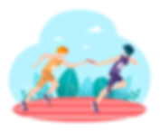 Lívancový běh - štafeta