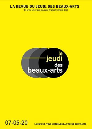 Revue du Jeudi des Beaux-Arts Mai 2020