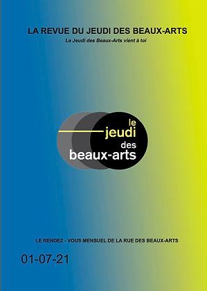 Revue du Jeudi des Beaux-Arts Juillet 2021