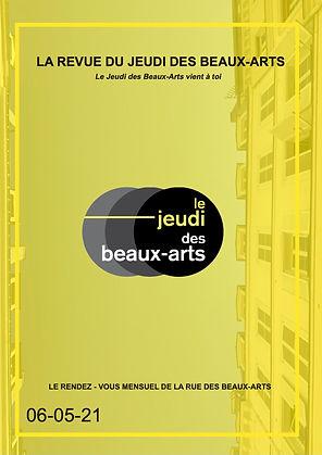 Revue du Jeudi des Beaux Arts Invitation au Voyage Mai 2021