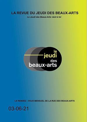 Revue du Jeudi des Beaux Arts Temps Fort Juin 2021
