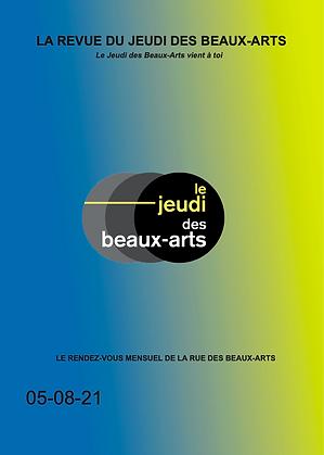 Revue du Jeudi des Beaux-Arts Août 2021