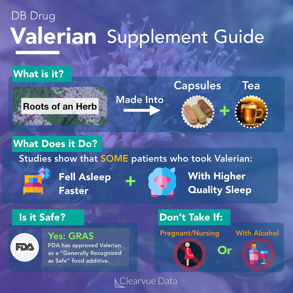 benefits of valerian root