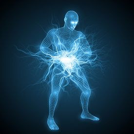 We have water and electricity in our bodies or Chi Qi