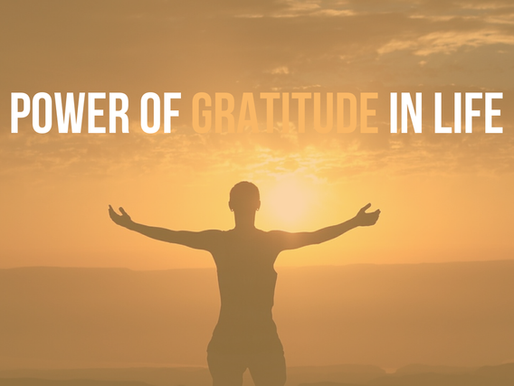 Power of Praise and Gratitude