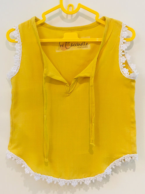 Blusinha amarela