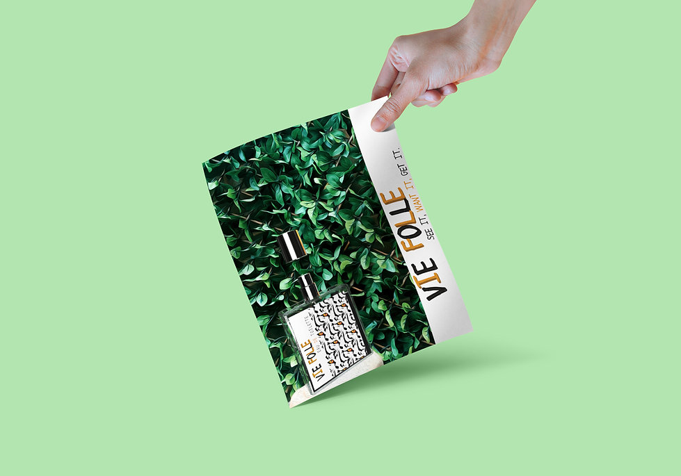 Becky Clee Vie Folle Tiger Packaging Des
