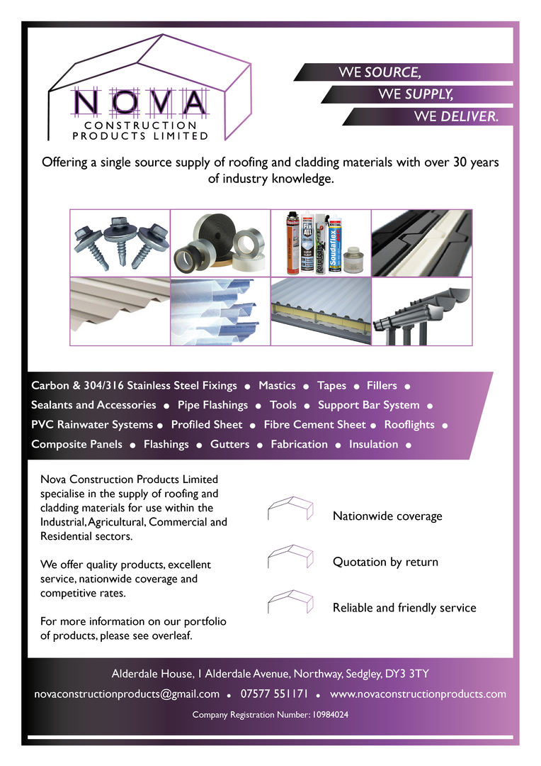 Nova Construction Products Limited Flyer