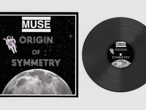 Thought Process: Muse 'Origin of Symmetry' Album Re-Design
